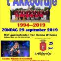 29 september 2019 Muziekmiddag 25 jaar Akkoordje